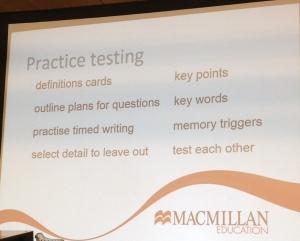 practice testing